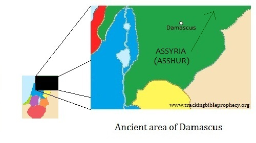 Ancient area of Damascus