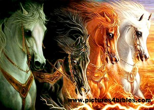 Four horses of the Apocolypse