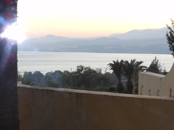 Galilee sunset
