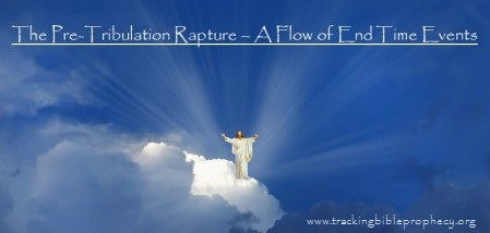 The Pre-Tribulation Rapture - A Flow of End Time Events